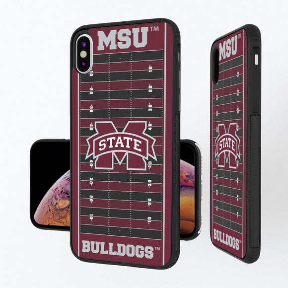 Mississippi State Bulldogs Football Field iPhone XS Max Bump Case