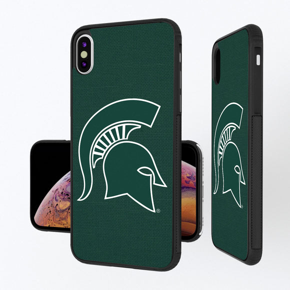 Michigan State Spartans Solid iPhone XS Max Bump Case