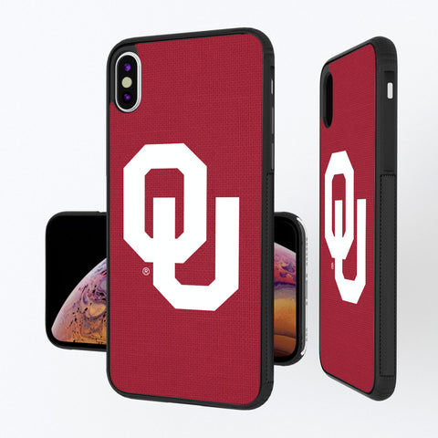 Oklahoma Sooners Solid iPhone XS Max Bump Case