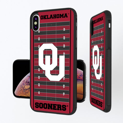 Oklahoma Sooners Football Field iPhone XS Max Bump Case