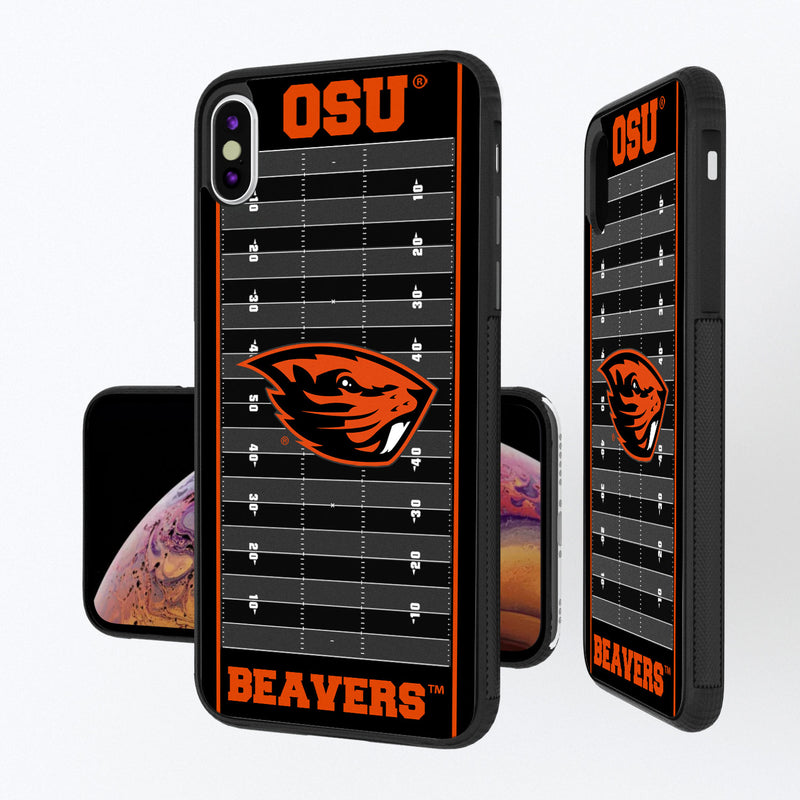 Oregon State Beavers Football Field iPhone XS Max Bump Case
