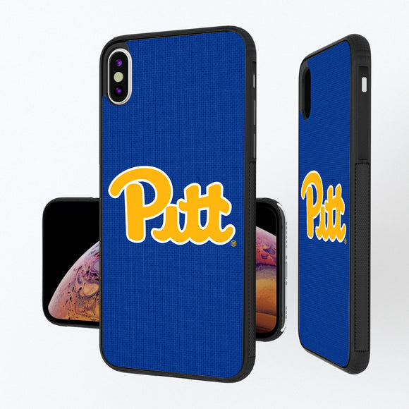 Pittsburgh Panthers Solid iPhone XS Max Bump Case