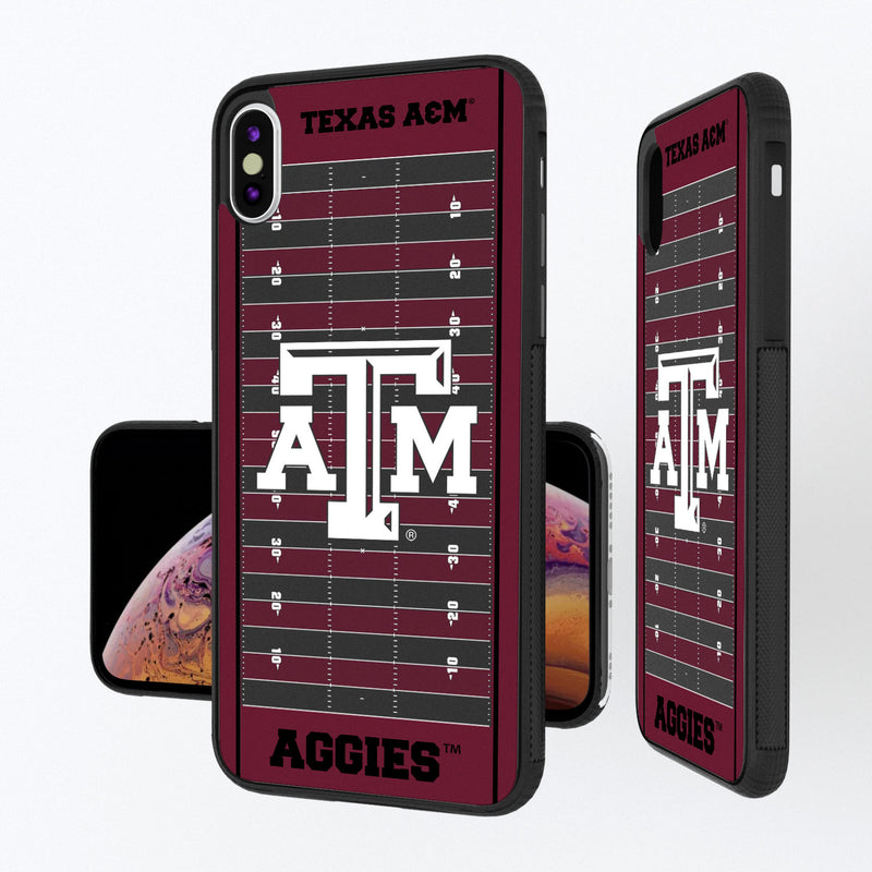 Texas A&M Aggies Football Field iPhone XS Max Bump Case