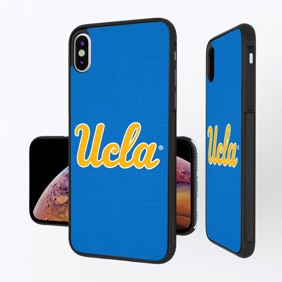 UCLA Bruins Solid iPhone XS Max Bump Case