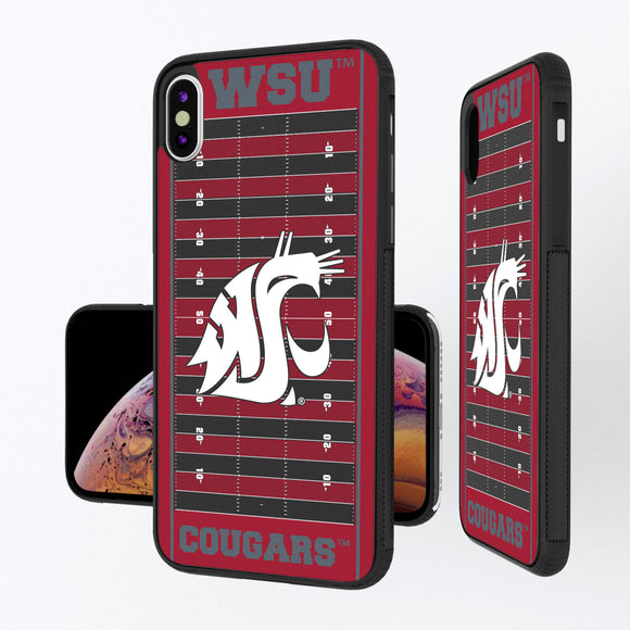 Washington State Cougars Football Field iPhone XS Max Bump Case