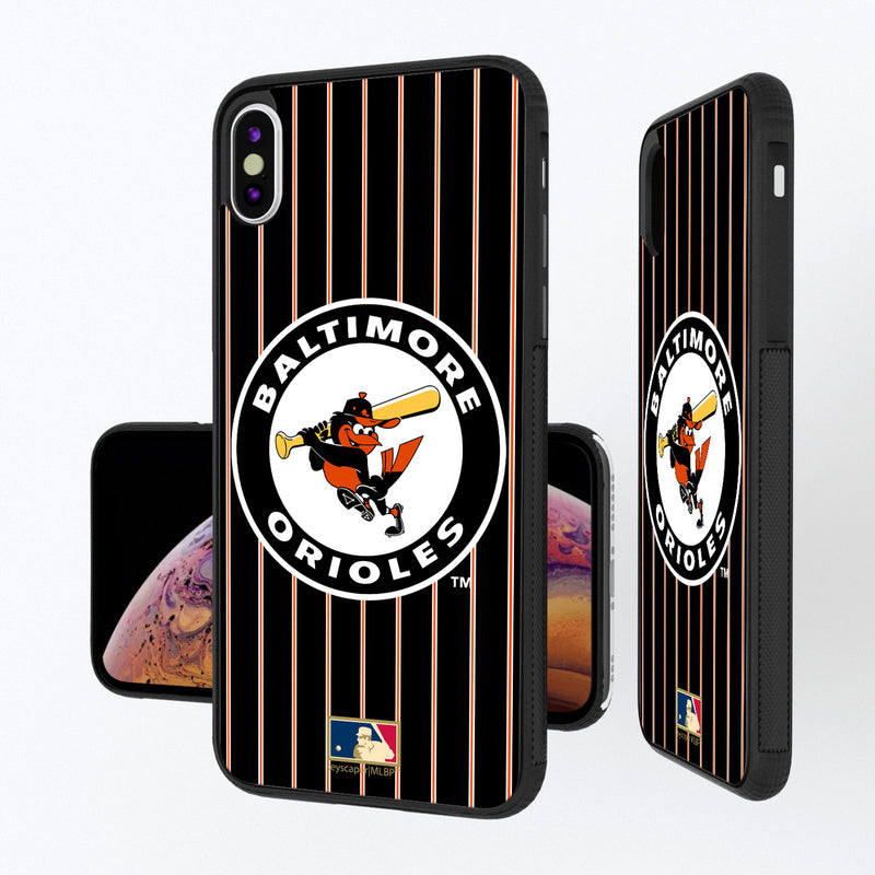 Baltimore Orioles 1966-1969 - Cooperstown Collection Pinstripe iPhone XS Max Bump Case