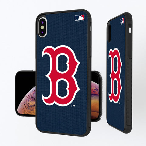 Boston Red Sox Red Sox Solid iPhone XS Max Bump Case