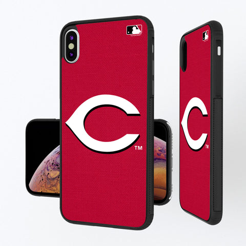 Cincinnati Reds Reds Solid iPhone XS Max Bump Case
