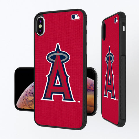 Los Angeles Angels Angels Solid iPhone XS Max Bump Case