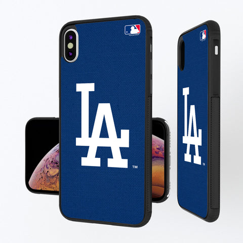 LA Dodgers Dodgers Solid iPhone XS Max Bump Case
