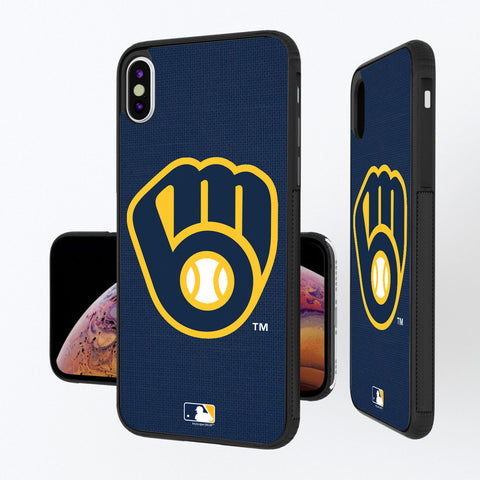 Milwaukee Brewers Brewers Solid iPhone XS Max Bump Case