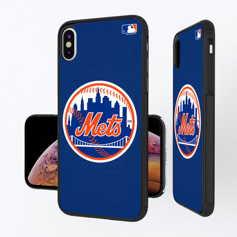 New York Mets Mets Solid iPhone XS Max Bump Case