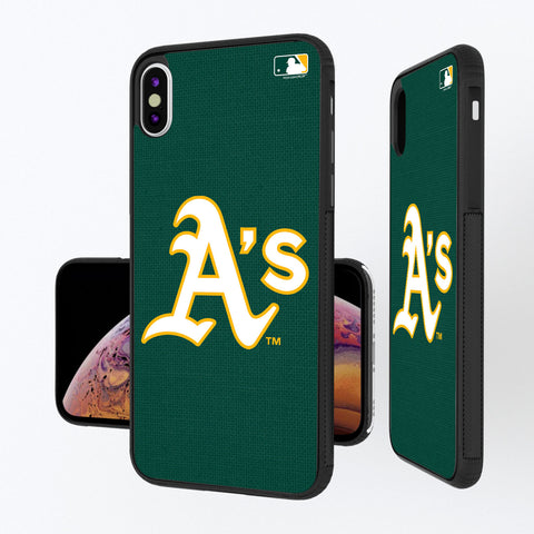 Oakland Athletics Athletics Solid iPhone XS Max Bump Case