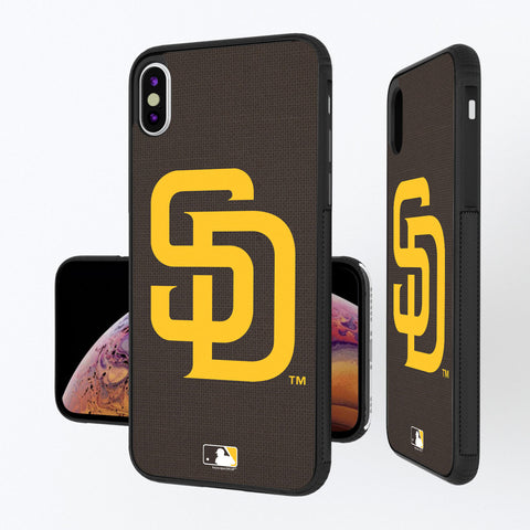 San Diego Padres Padres Solid iPhone XS Max Bump Case
