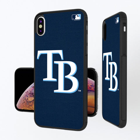 Tampa Bay Rays Rays Solid iPhone XS Max Bump Case