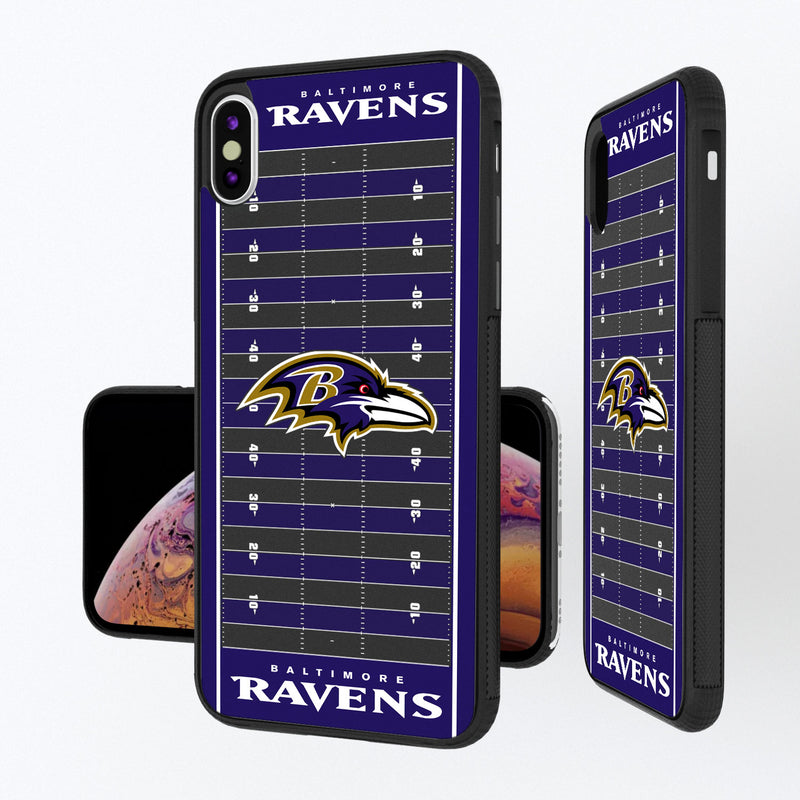 Baltimore Ravens Football Field iPhone XS Max Bump Case