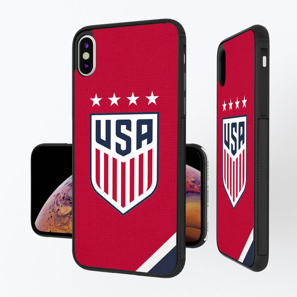 United States Womens National Team Diagonal Stripe iPhone XS Max Bump Case