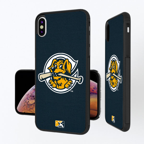 Charleston RiverDogs Solid iPhone XS Max Bump Case
