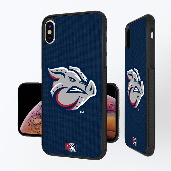 Lehigh Valley IronPigs Solid iPhone XS Max Bump Case