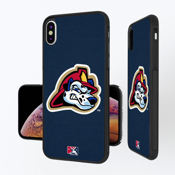 Peoria Chiefs Solid iPhone XS Max Bump Case
