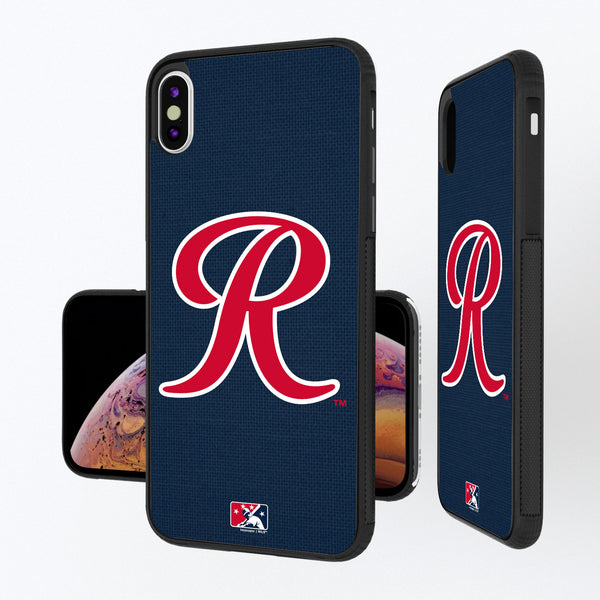 Tacoma Rainiers Solid iPhone XS Max Bump Case