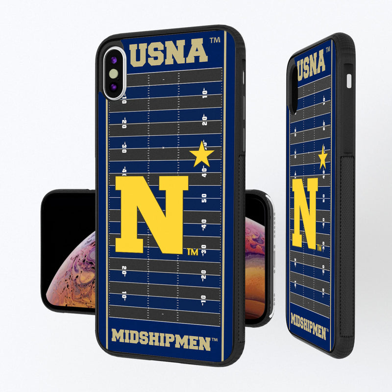 Naval Academy Midshipmen Football Field iPhone XS Max Bump Case