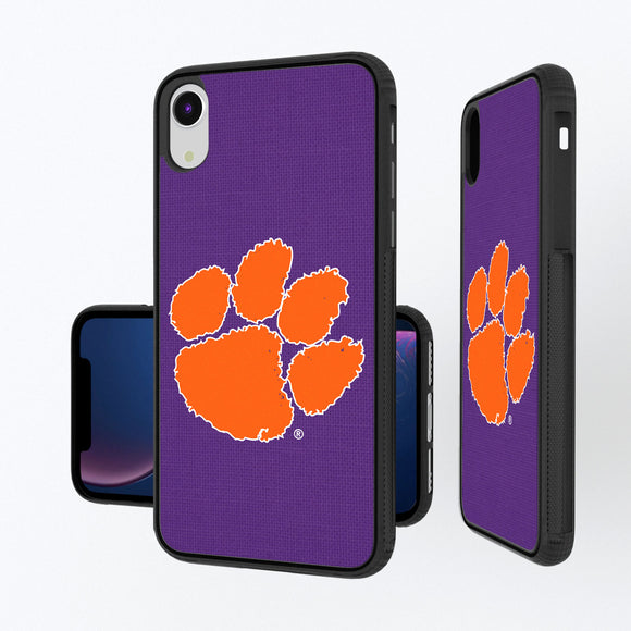 Clemson Tigers Solid iPhone XR Bump Case