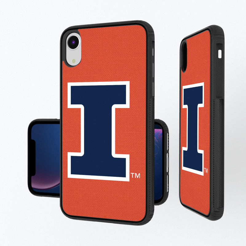 Illinois Fighting Illini Solid iPhone XR Bump Case