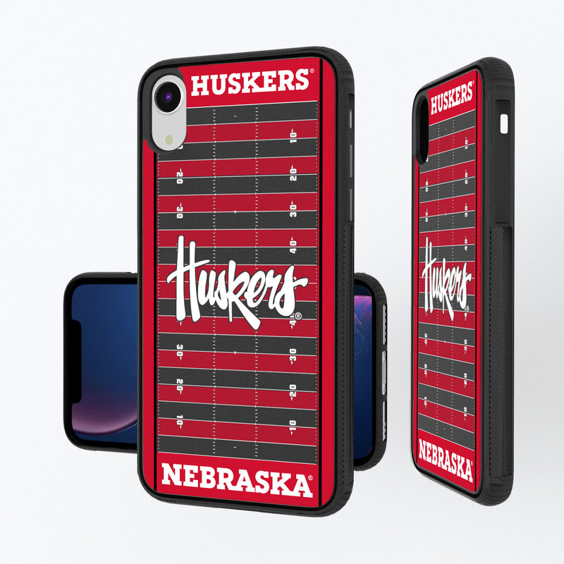 Nebraska Huskers Football Field iPhone XR Bump Case