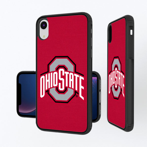Ohio State Buckeyes Solid iPhone XR Bump Case