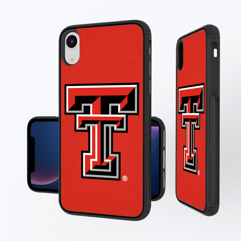 Texas Tech Red Raiders Solid iPhone XR Bump Case