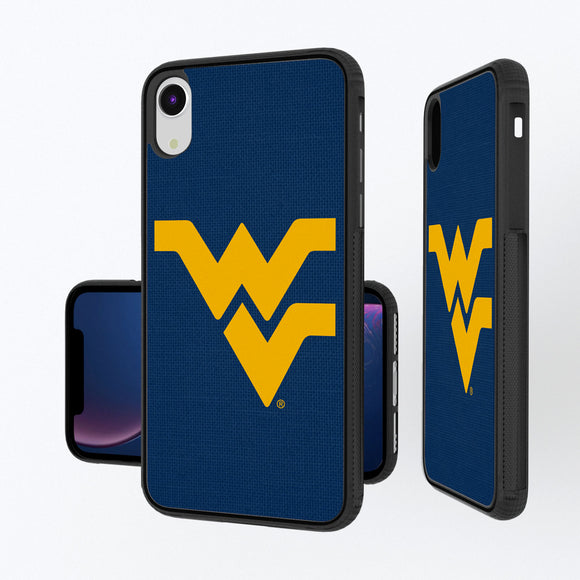 West Virginia Mountaineers Solid iPhone XR Bump Case