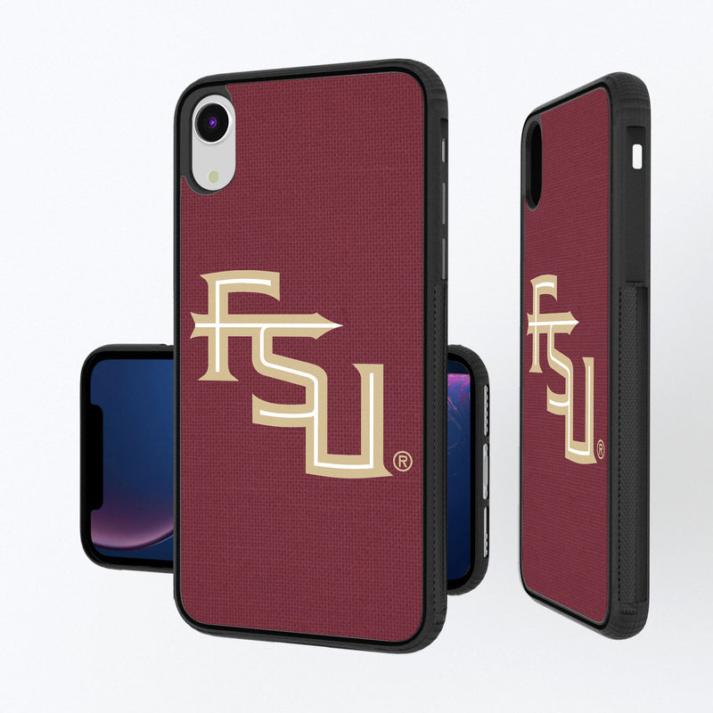 Florida State Seminoles Solid iPhone XR Bump Case