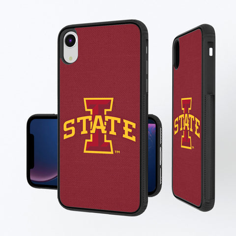 Iowa State Cyclones Solid iPhone XR Bump Case