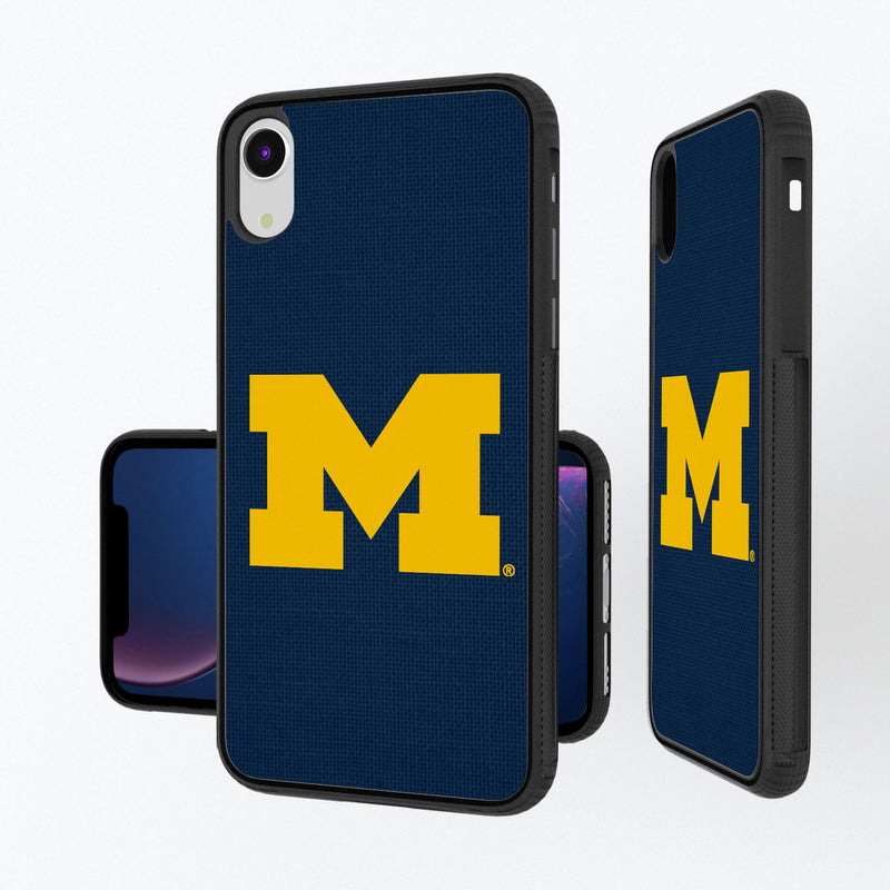 Michigan Wolverines Solid iPhone XR Bump Case