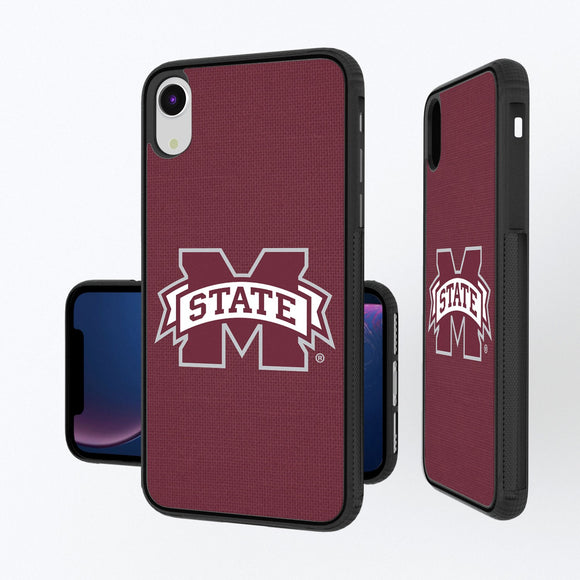 Mississippi State Bulldogs Solid iPhone XR Bump Case