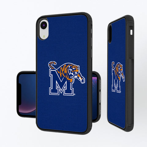 Memphis Tigers Solid iPhone XR Bump Case