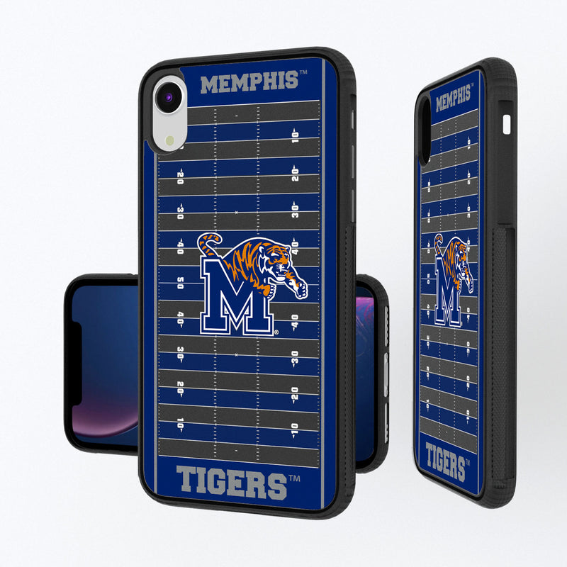 Memphis Tigers Football Field iPhone XR Bump Case