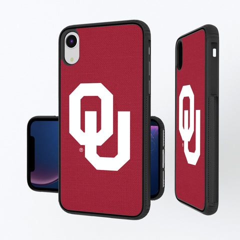 Oklahoma Sooners Solid iPhone XR Bump Case