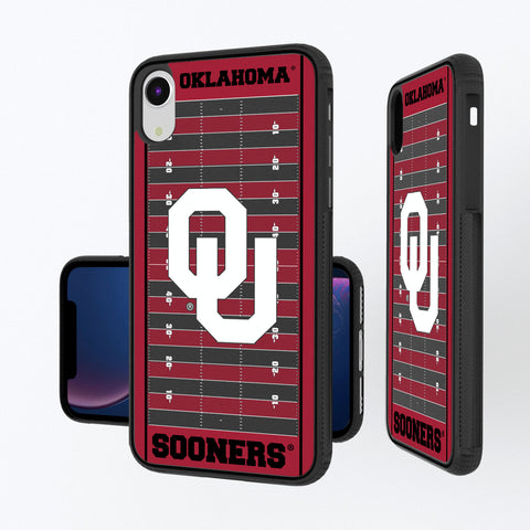 Oklahoma Sooners Football Field iPhone XR Bump Case