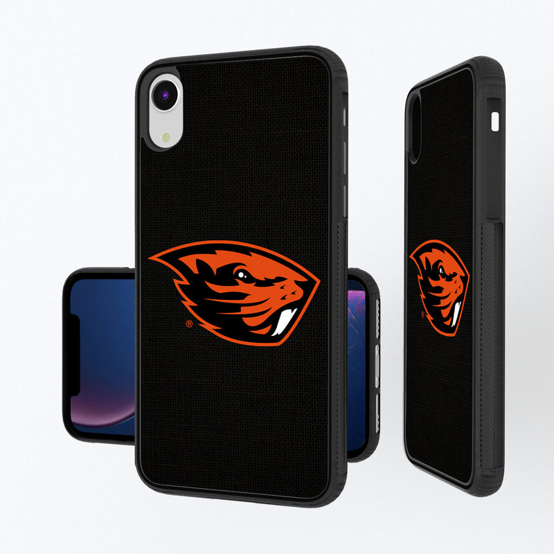 Oregon State Beavers Solid iPhone XR Bump Case