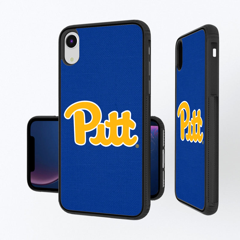 Pittsburgh Panthers Solid iPhone XR Bump Case