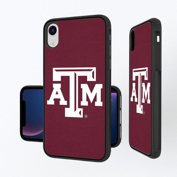 Texas A&M Aggies Solid iPhone XR Bump Case