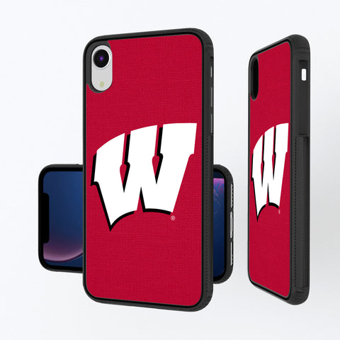 Wisconsin Badgers Solid iPhone XR Bump Case