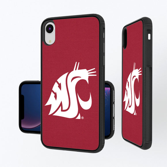 Washington State Cougars Solid iPhone XR Bump Case