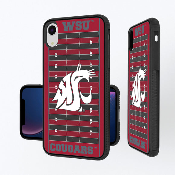 Washington State Cougars Football Field iPhone XR Bump Case