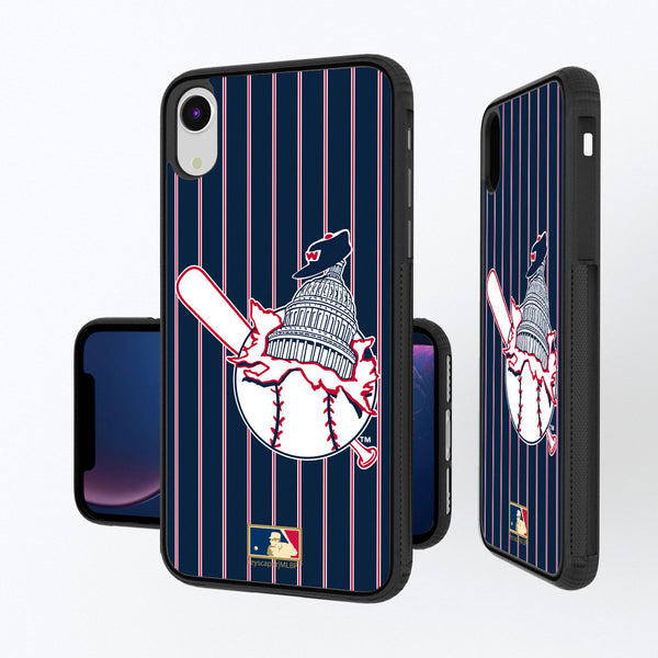 Washington Senators 1953-1956 - Cooperstown Collection Pinstripe iPhone XR Bump Case