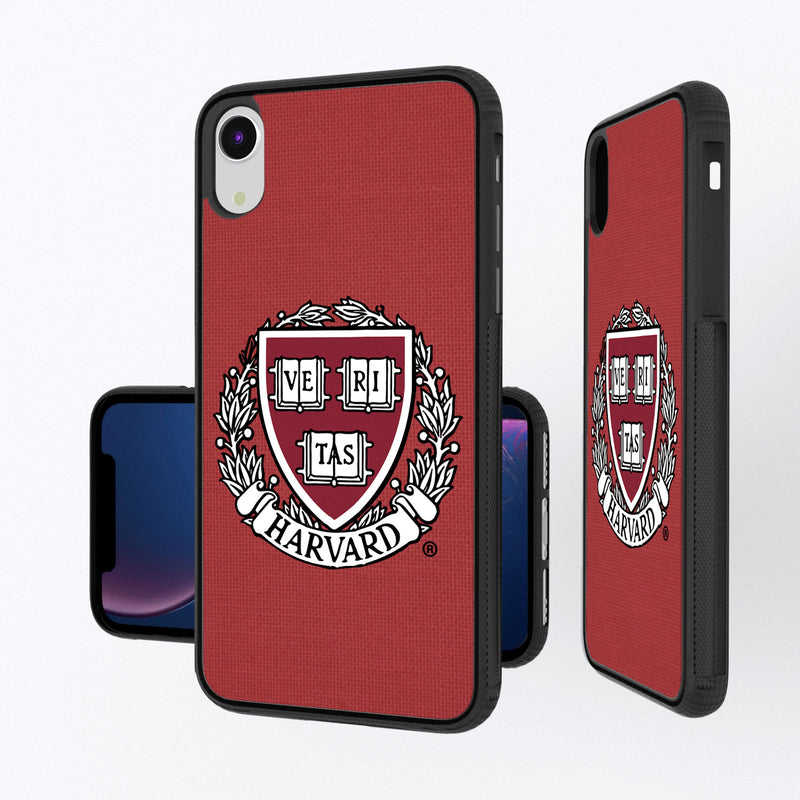 Harvard Crimson Solid iPhone XR Bump Case