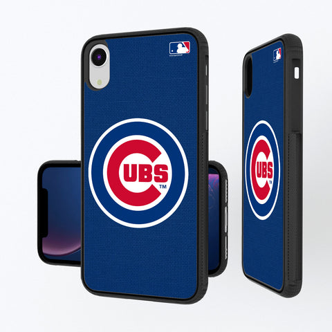 Chicago Cubs Cubs Solid iPhone XR Bump Case