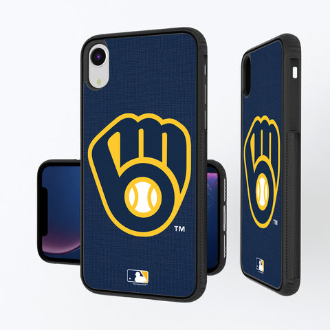 Milwaukee Brewers Brewers Solid iPhone XR Bump Case
